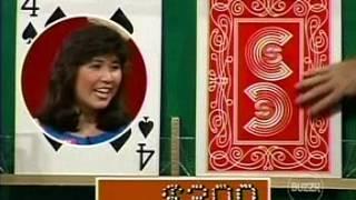 Card Sharks (April 10, 1986) Sandy vs Collette