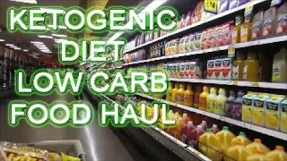 Ketogenic Diet Low Carb FOOD Haul