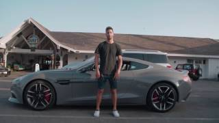F1 Driver Daniel Ricciardo Drives LA #tbt