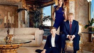 La Humilde casa de Donald Trump