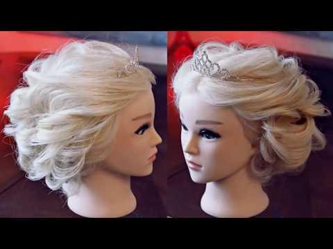 Зачіска з діадемою