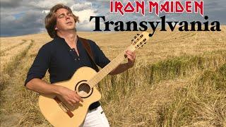 IRON MAIDEN - Transylvania (Acoustic) - Guitar & Violin cover by Thomas Zwijsen & Wiki Krawczyk