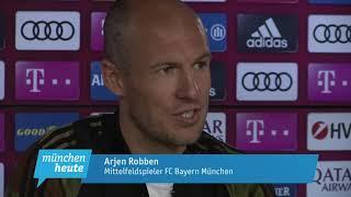 Emotionale PK  Robben und Rafinha nehmen langsam Abschied vom FC Bayern München