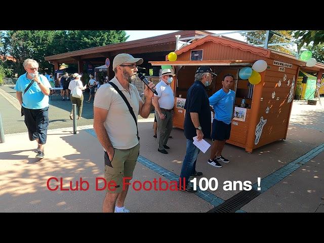 FA D04 - Le CLUB DE FOOTBALL en démonstration - Forum des Associations Lège-Cap Ferret.