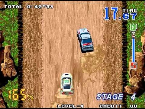 Neo Drift Out Walkthrough/Gameplay Neo Geo