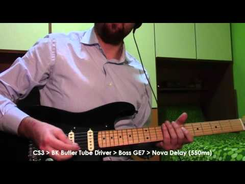 The sound of Gilmour: Louder Plexi VS Tube Driver