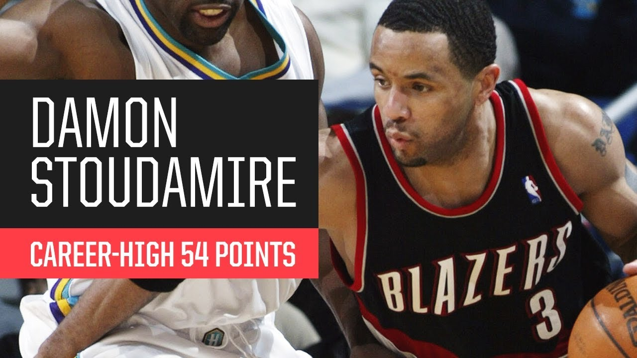 online retailer a9e40 11c87 Throwback  Damon Stoudamire s Career-High 54 Points vs. New Orleans