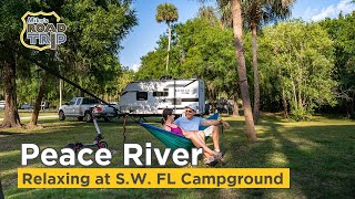 Thousand Trails Peace River Florida vlog and Campground overview