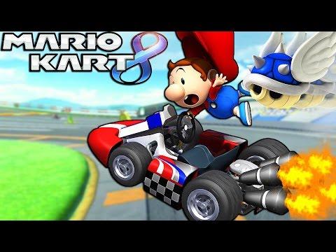 TU N'AS PAS FAIT ÇA ! | Mario Kart 8