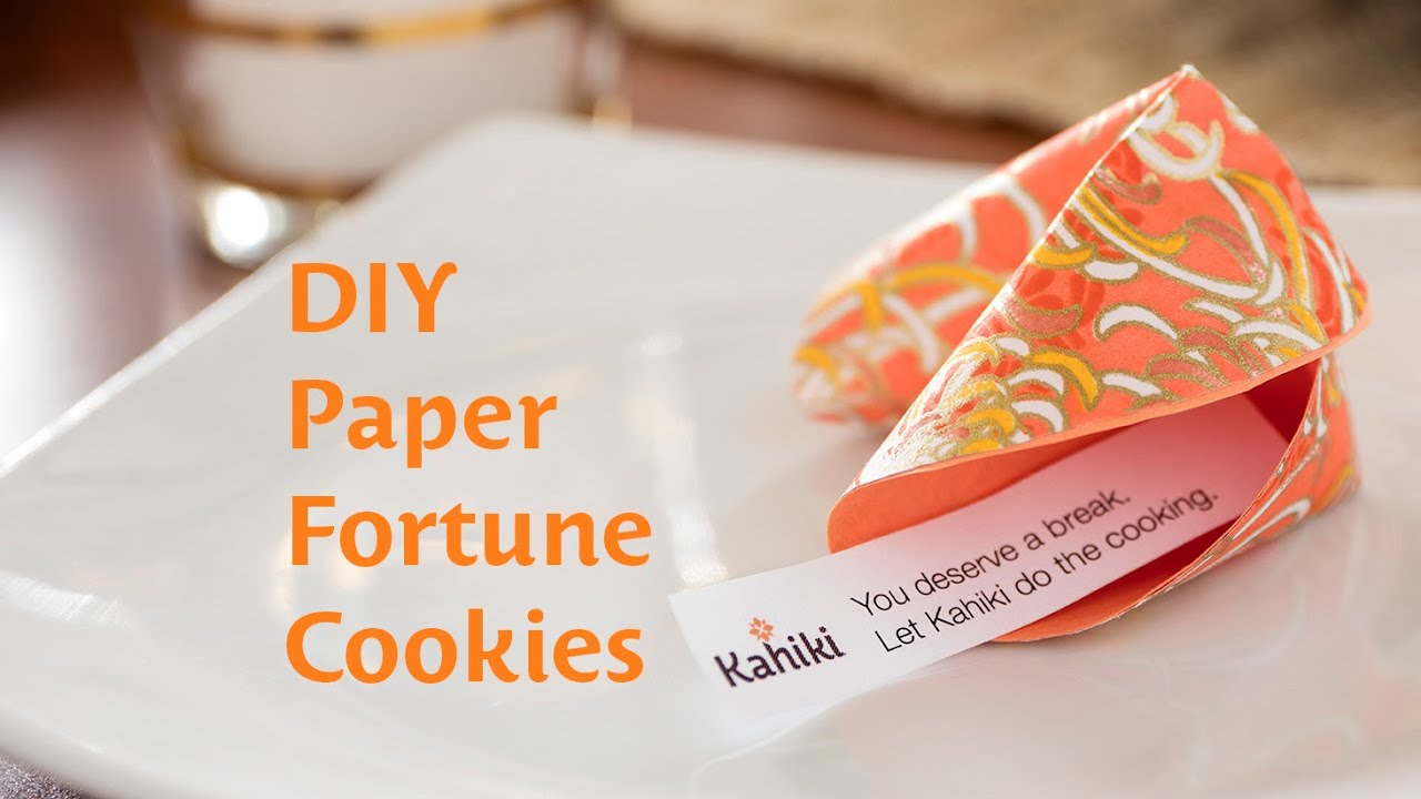 Rainbow Paper Fortune Cookies: VIDEO Tutorial • CHALK Academy | 720x1280