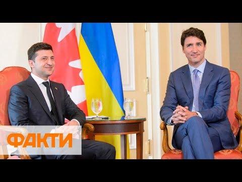 Смотреть Зеленский на встрече с Трюдо: Канада доказала, что она является другом Украины онлайн