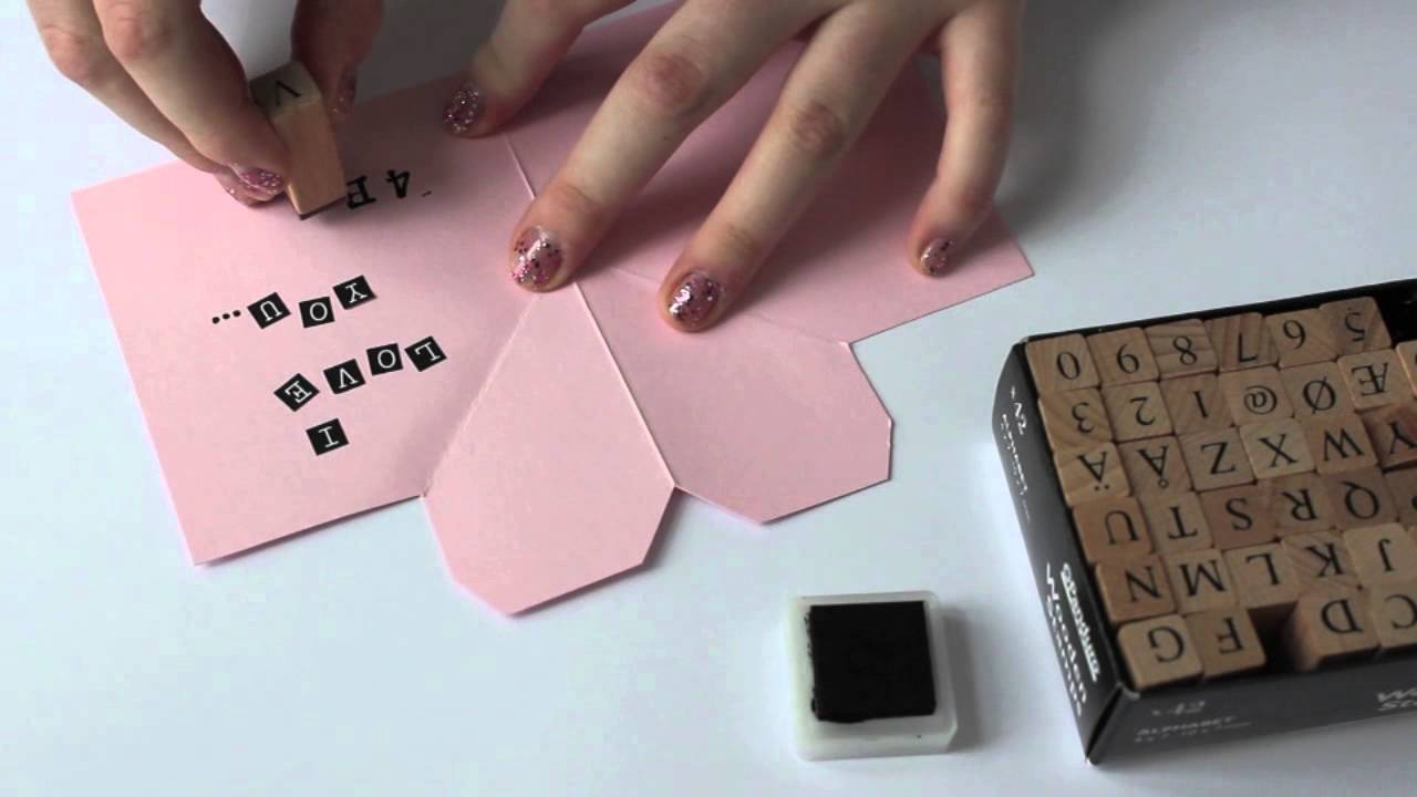 Valentine DIY   Love Letter   YouTube