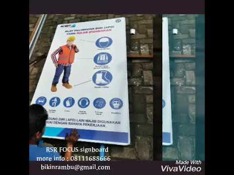 Rambu K3 / Safety Sign - YouTube
