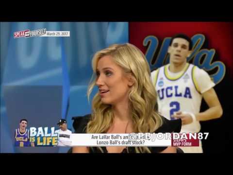 Kristine Leahy lies about Lavar Ball