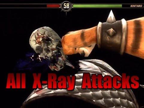 Mortal Kombat 9 All XRay Attacks + DLC + Bosses MK9 MKIX Xbox 360