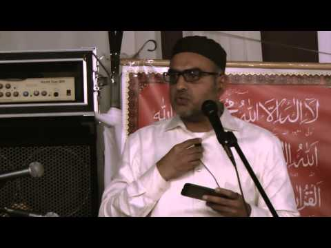 Speech By Jawad Ali Khan at Urs-e-Mubarak Imamuna AHS