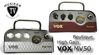 VOX MV50 Boutique, High Gain - Review