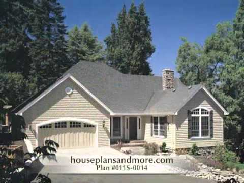 Shingle Style Homes Video 1 | House Plans and More