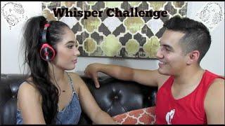 Whisper Challenge ft. Ivan (My Fiance) | Marisol Sandoval