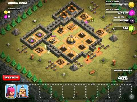 Clash of Clans: Arrow Head - Lvl 28