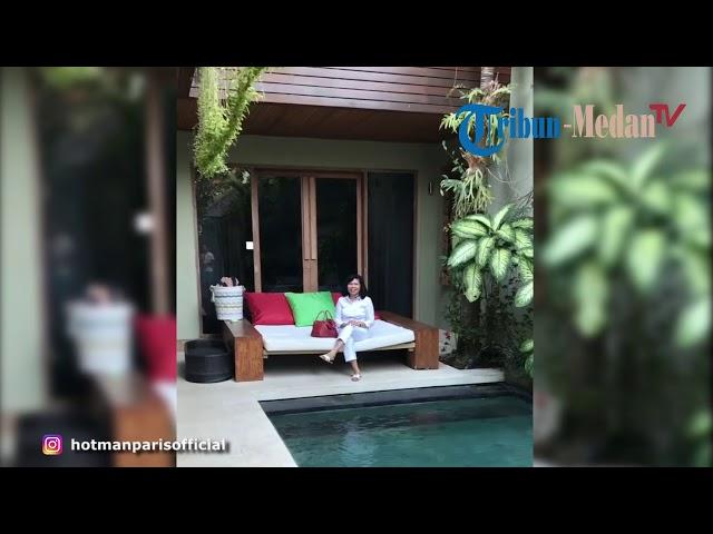 Agustianne Marbun Cek Kondisi Villa yang Dibeli Hotman Paris di Bali