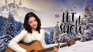 Let it snow ❄️, кавер на гитаре видео