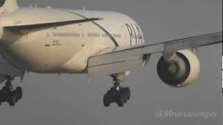 PIA 777-240ER Landing @ Birmingham Airport with ATC | Pakistan International Airlines | EGBB/BHX