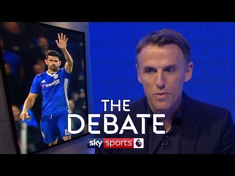 Could Costa have stayed at Chelsea? | Phil Neville & Stuart Pearce | The Debate