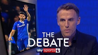 Could Costa have stayed at Chelsea?   Phil Neville & Stuart Pearce   The Debate