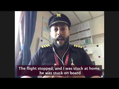 Capt. Shubert Jacinto Pires joining up with fellow seafarers | Qatar Airways