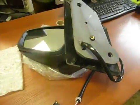 как разобрать боковое зеркало фольксваген поло седан