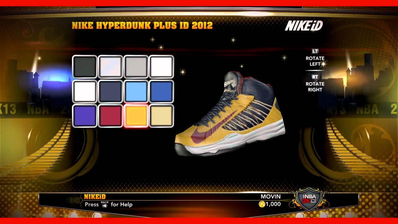 NBA 2K13 - NIKEiD