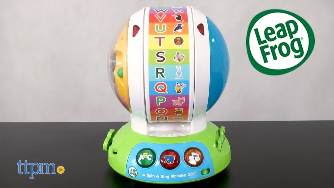 Spin Sing Alphabet Zoo From Leapfrog Youtube