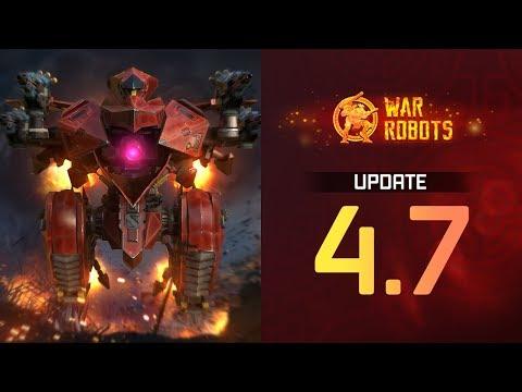 War Robots Update 4.7 Overview | Faster Upgrades, Robot Buffs, Lunar New Year Event, New Robots
