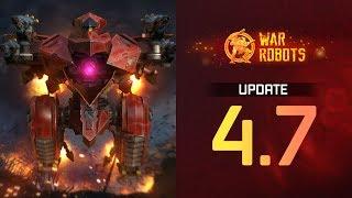 War Robots Update 4.7 Overview | Faster Upgrades, Robot Buffs, Lunar New Year Event, New Robots 2019