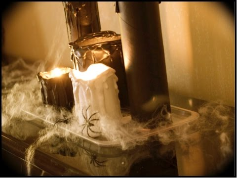 Como hacer velas para halloween 2 parte youtube - Como hacer velas en casa ...