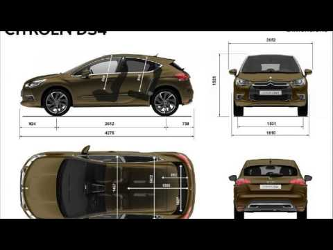 citroen ds4 dimensions youtube. Black Bedroom Furniture Sets. Home Design Ideas