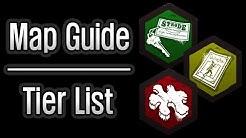 Dead by Daylight - Map Guide / Tier List
