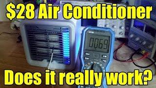Arctic Air type evaporation cooler test (personal air conditioner)