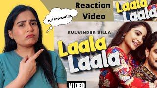 Reaction on Laala Laala  | Kulwinder Billa | Alankrita Sahai | Desi Crew | Latest Punjabi song