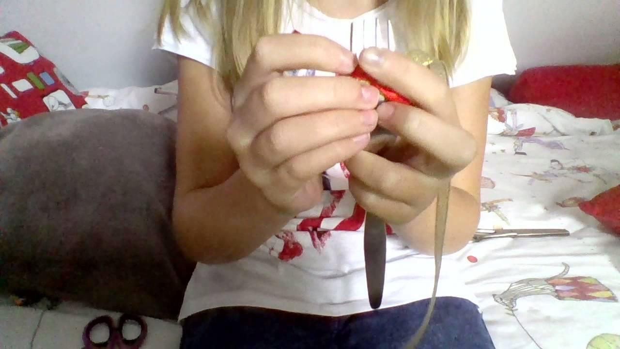 tuto facile pour faire un noeud en ruban avec une fourchette youtube. Black Bedroom Furniture Sets. Home Design Ideas