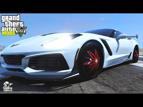 Chevrolet Corvette ZR (Car Showcase #) GTA  MODS