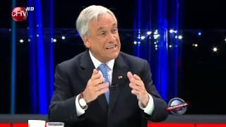 Presidente Piñera y su crítica al Partido Comunista en Tolerancia Cero