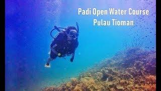 【日常VLOG】在刁曼岛Tioman的四天三夜 | Padi Open Water Course