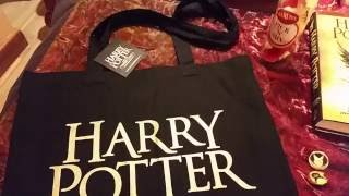 Harry Potter and the Cursed Child Haul 1 (pins, keyrings, booklets, quills, ties, ...) (HD) Mp3