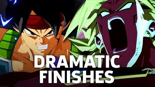 Dragon Ball FighterZ Easter Eggs - Broly & Bardock Dramatic Finishes