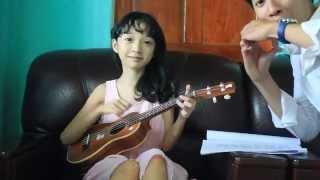 Rước Đèn Tháng Tám - Ukulele cover - Quỳnh Châu
