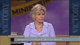 Stand Your Ground and Take Your Healing