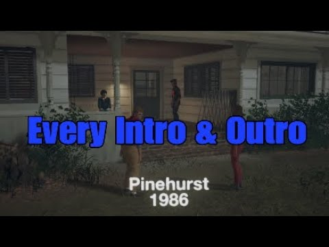 Friday the 13th: The Game: Every Jason Pinehurst 1986  & Outro