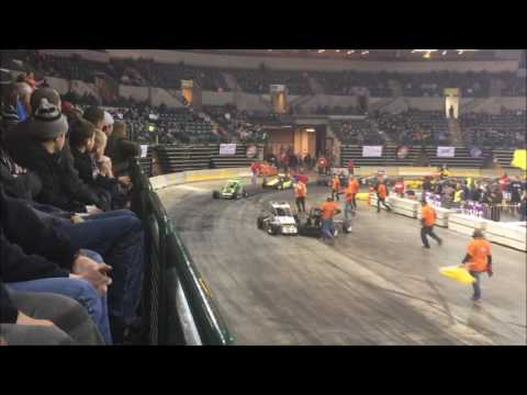 The Fourth Annual Battle Of Trenton Indoor Autoracing at Sun Bank National Center 2016
